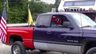 Just One Simple Way..  To Put Flag Pole's..  In The Bed Of Your Pick-Up Truck..