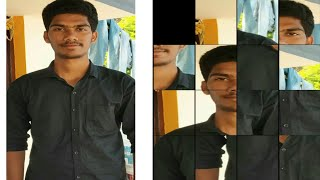 How to make puzzle video in kwai app !! Telugu screenshot 1