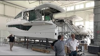 Take a Tour of the Galeon Yachts Factory