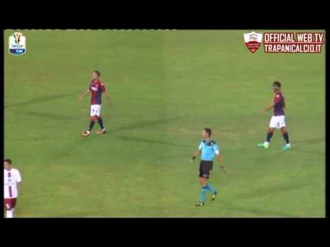Highlights Bologna-Trapani 2-0, 3° turno TimCup 12.08.16 ©TrapaniCalcio.it