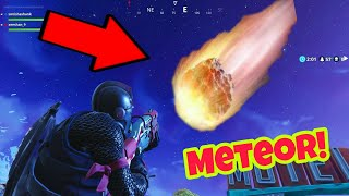 METEOR in Fortnite Battle Royale (Theory) Secrets and Easter eggs