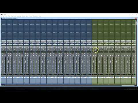 How To Setup A Vocal Recording Session and Template in Pro Tools 12