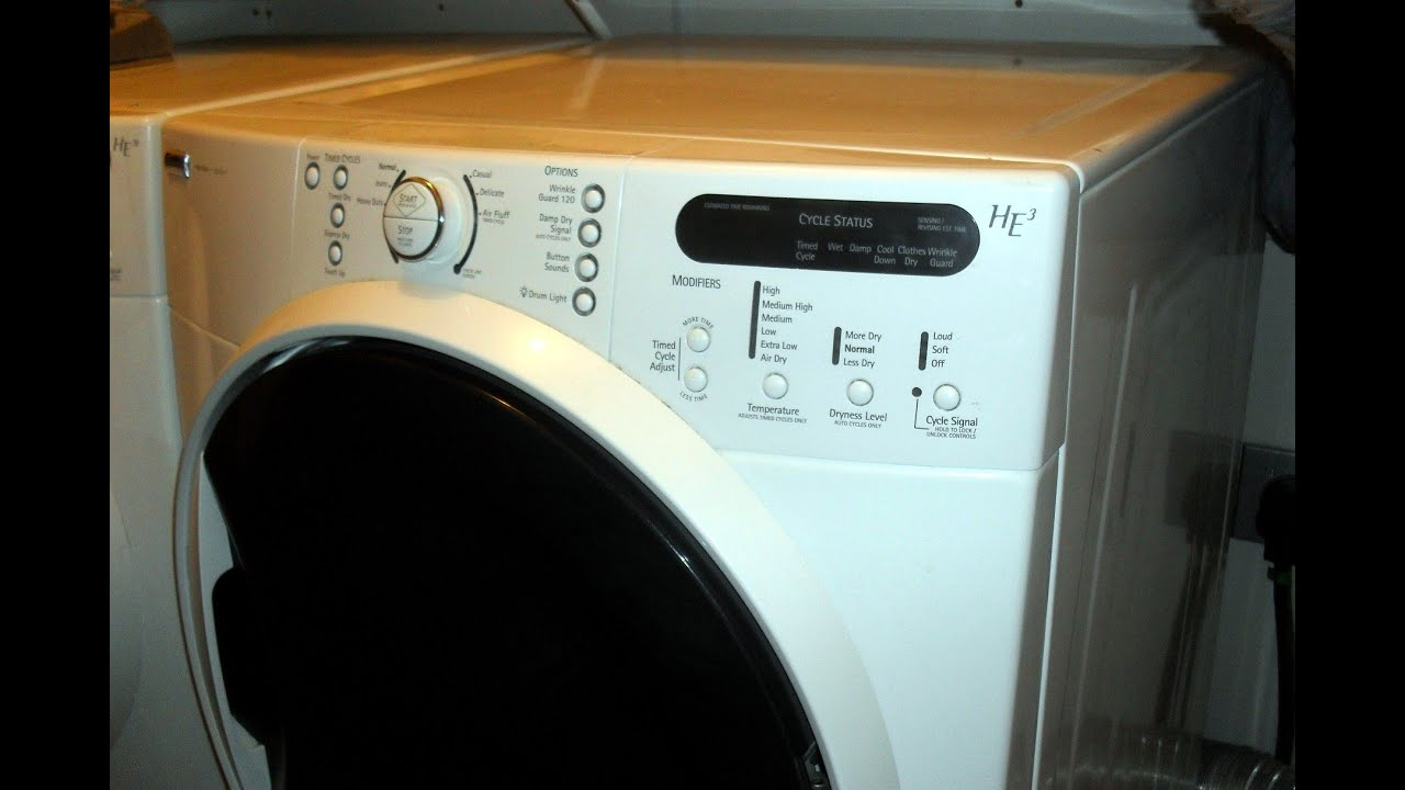 Sears Washer And Dryer Canada Dryer Sears Kenmore He3 F01 Error Code Main Circuit Board Repair