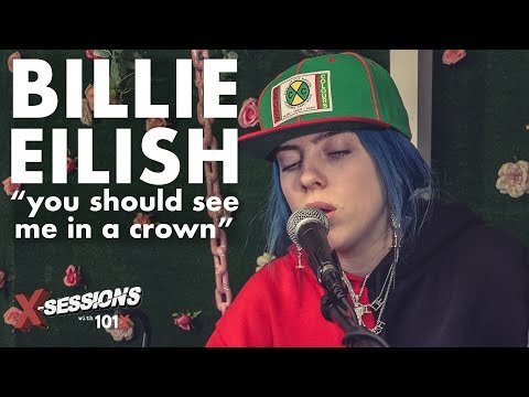 """Billie Eilish """"you should see me in a crown"""" [LIVE Acoustic Performance