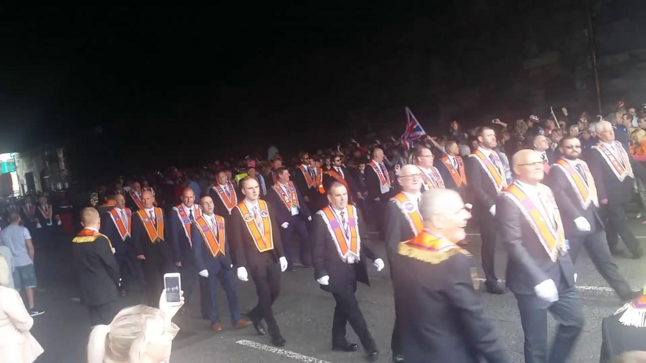 Girls Orange Walk