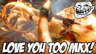 AM I BEING TROLLED RIGHT NOW? IS MKX TROLLING ME? - Mortal Kombat X Cyrax Gameplay
