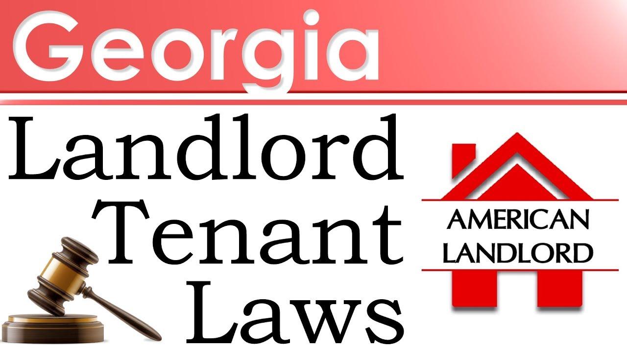 Georgia Landlord Tenant Law >> Georgia Landlord Tenant Laws American Landlord Youtube