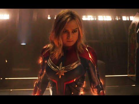 Капитан Марвел против расы Крии: Капитан Марвел (2019) Момент из фильма