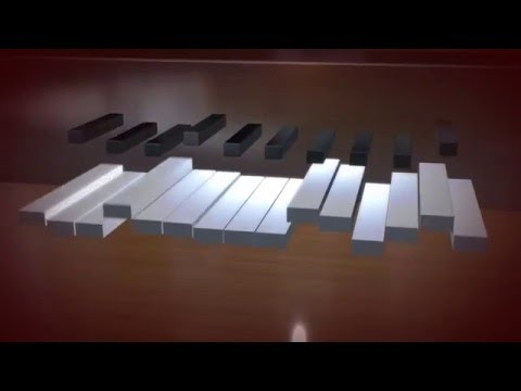 jazz-piano-music-&-element-3d-animation-after-effects