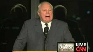 Edward Kennedy Memorial Service - John Culver (Part 1)
