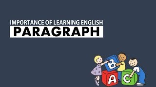 IMPORTANCE OF LEARNING ENGLISH (FOR JSC, SSC, HSC-WITH PDF)