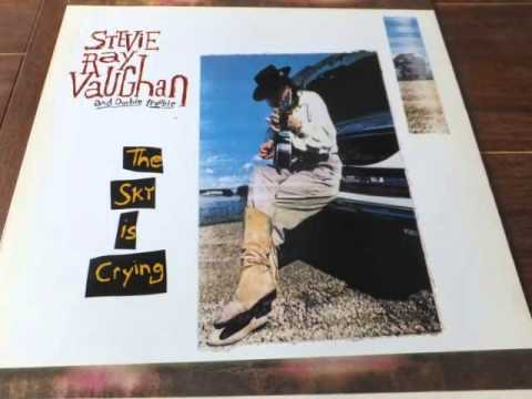 Stevie Ray Vaughan vinyl (empty arms)