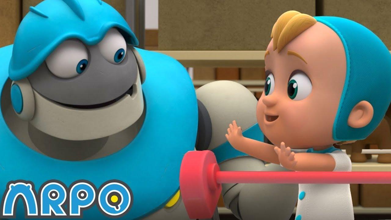 Baby Daniel and The Dangerous Toys + More Cartoons For KIds | ARPO | Sandaroo Kids Channel