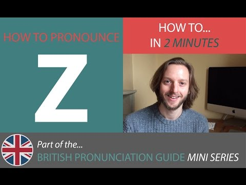 How To Pronounce Z