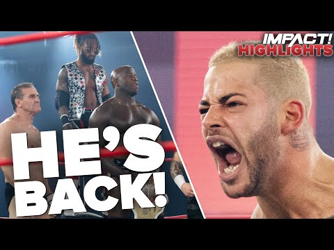 Trey Miguel RETURNS in Epic Main Event! | IMPACT! Highlights Jan 26, 2021