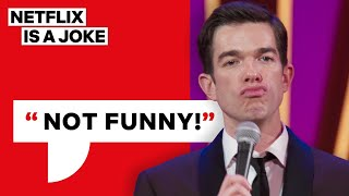 Download Mick Jagger Told John Mulaney He's Not Funny | Netflix Is A Joke Mp3 and Videos