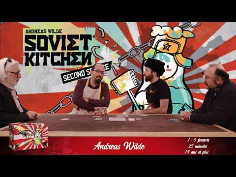 Soviet Kitchen, de l'explipartie !
