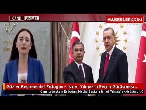 Cumhurbaşkanı Erdoğan İsmet Yılmaz'ın Seçim Görüşmesi Başladı | Erken Seçim