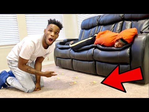 MOUSETRAP PRANK ON AR'MON AND PERFECTLAUGHS!!!!