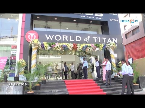 Titan Inaugurates Largest Watch Store in Jubilee Hills Hyderabad