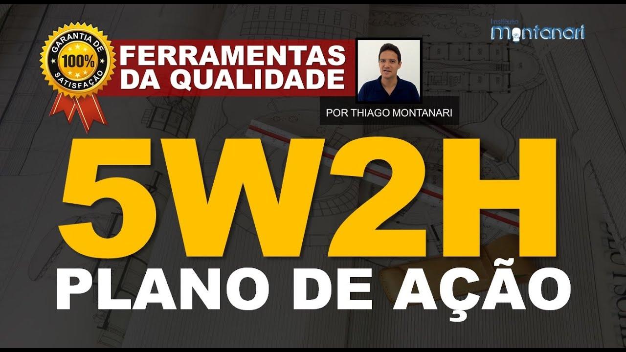 5W2H - Plano de Ação - Ferramentas da Qualidade Total