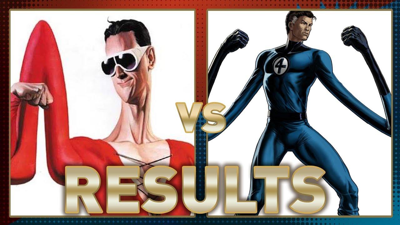 Plastic Man Vs Mr Fantastic Fanboy Faceoff Results Youtube
