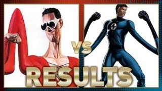 Plastic Man vs Mr Fantastic: Fanboy Faceoff Results