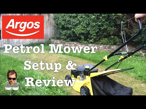 Challenge 40CM Petrol Lawnmower Review & Setup XSS40E