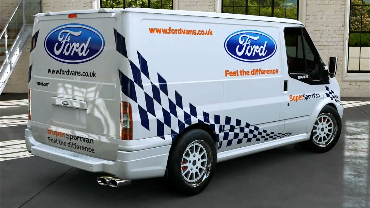 forza motorsport 5 2011 ford transit supersportvan youtube. Black Bedroom Furniture Sets. Home Design Ideas