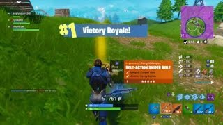 Getting my mate his first win on Fortnite