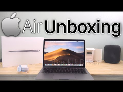 New MacBook Air Unboxing - 2019: 13 Inch and Review