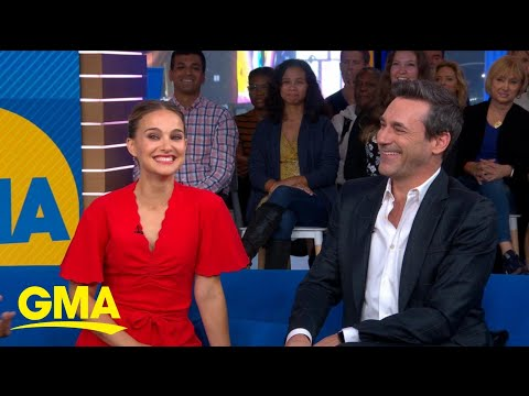 Natalie Portman's Mom Recognizes Jon Hamm, But Not From The Movies L GMA