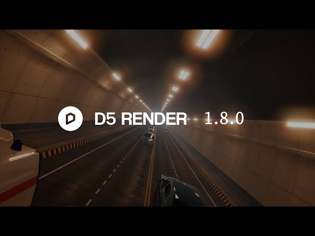 D5 Render 1.8.0 NOW Available|Dynamic Particle, 3ds Max sync, GI accuracy&Denoiser enhancements...