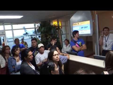 VARADOS del vuelo de Tiara Air Aruba  con destino a Venezuela