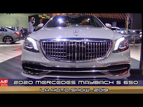 2020 Mercedes Maybach S 650 Sedan - Exterior And Interior - LA Auto Show 2019