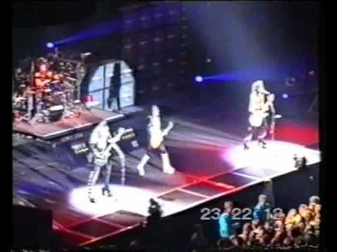 KISS Live in Rotterdam, The Netherlands - 1996