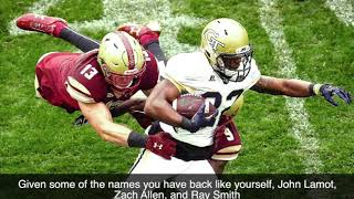 Interview With BC Linebacker Connor Strachan