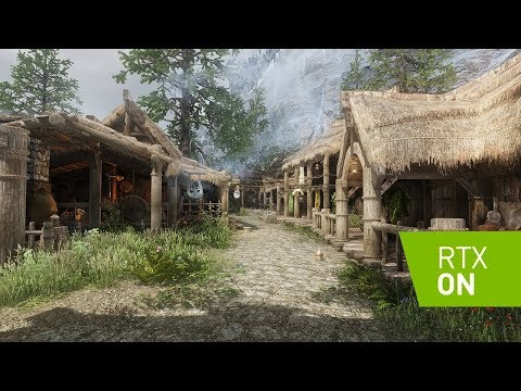 Skyrim SE 2019 - RAY TRACING - Marty McFly's RT Shader - Ultra Modded - 4k