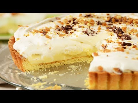 Banana Cream Pie Recipe Demonstration - Joyofbaking.com