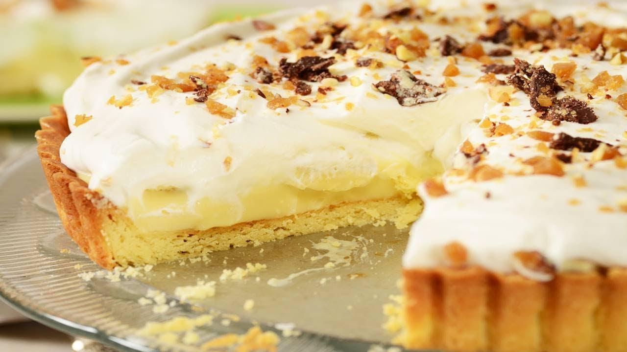 Download Banana Cream Pie Recipe Demonstration - Joyofbaking.com