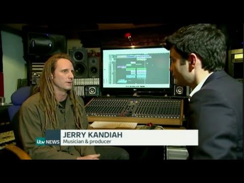 Tribazik on ITV News at Ten 9/5/14  Apple buys Dr Dre's Beats Electronics streaming service