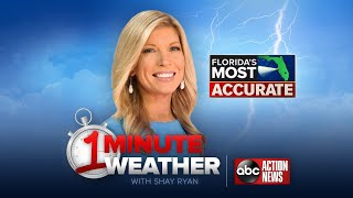 Florida's Most Accurate Forecast with Shay Ryan on Thursday, August 24, 2017