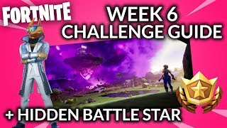 WEEK 6 BOOGIEDOWN REGULAR & PRESTIGE CHALLENGE GUIDE & SECRET BATTLE STAR // Fortnite Season 10
