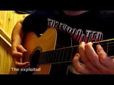 Alternative - the Exploited (acoustic cover by Karl Deeter)