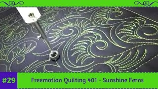 Daily Freemotion Quilting Designs by Tracey Russell. Simple and for...