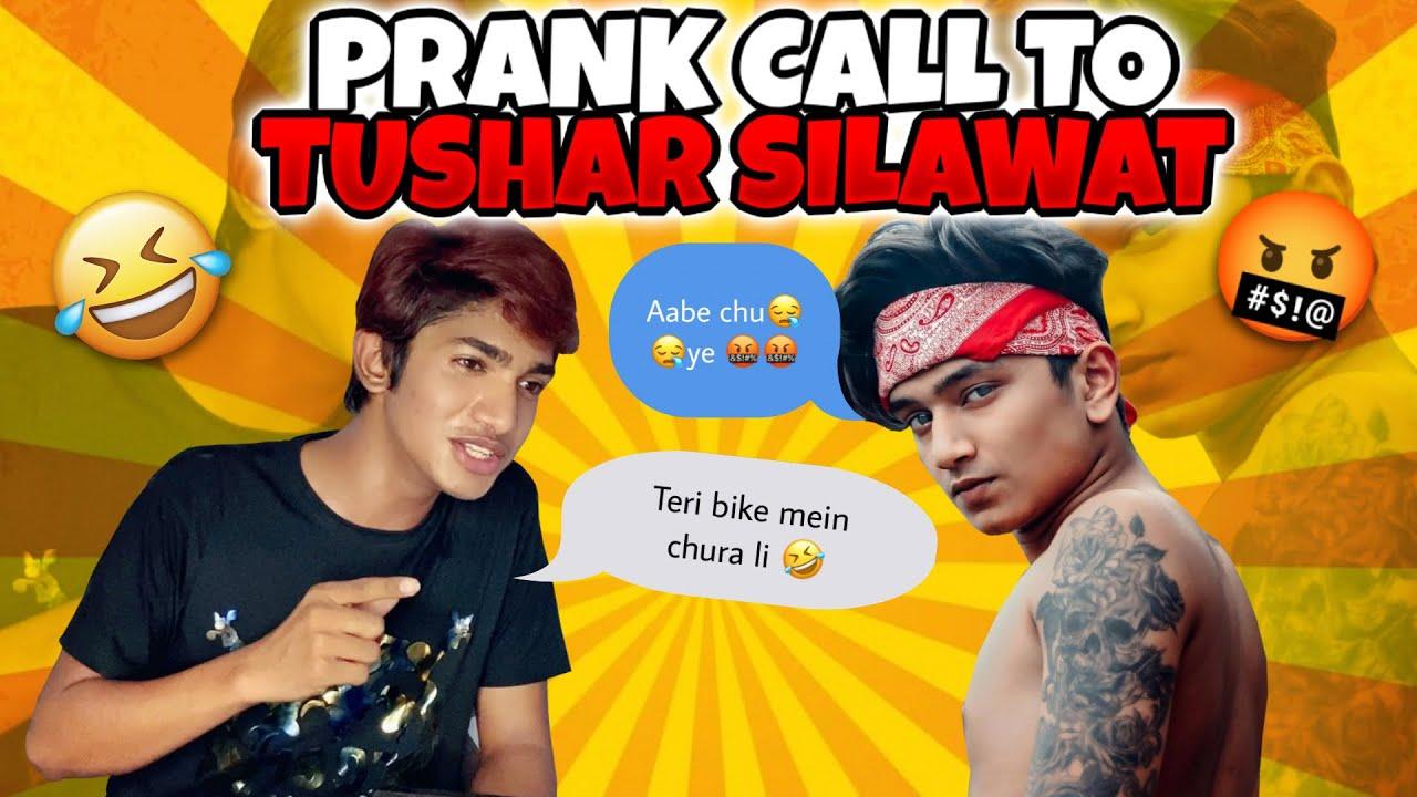 BIKE CHOR PRANK CALL TO TUSHAR SILAWAT ?? | GONE WRONG ? | PRANK CALL 2.0 | GTRVLOGS