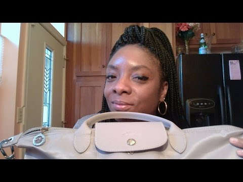What's In My Purse? Longchamp Le Pliage Neo 2016  Purchased in Dubai!