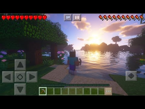 MCPE 1 11 3 BEST SHADERS - Minecraft PE Ultra Realistic Shaders Texture Pack