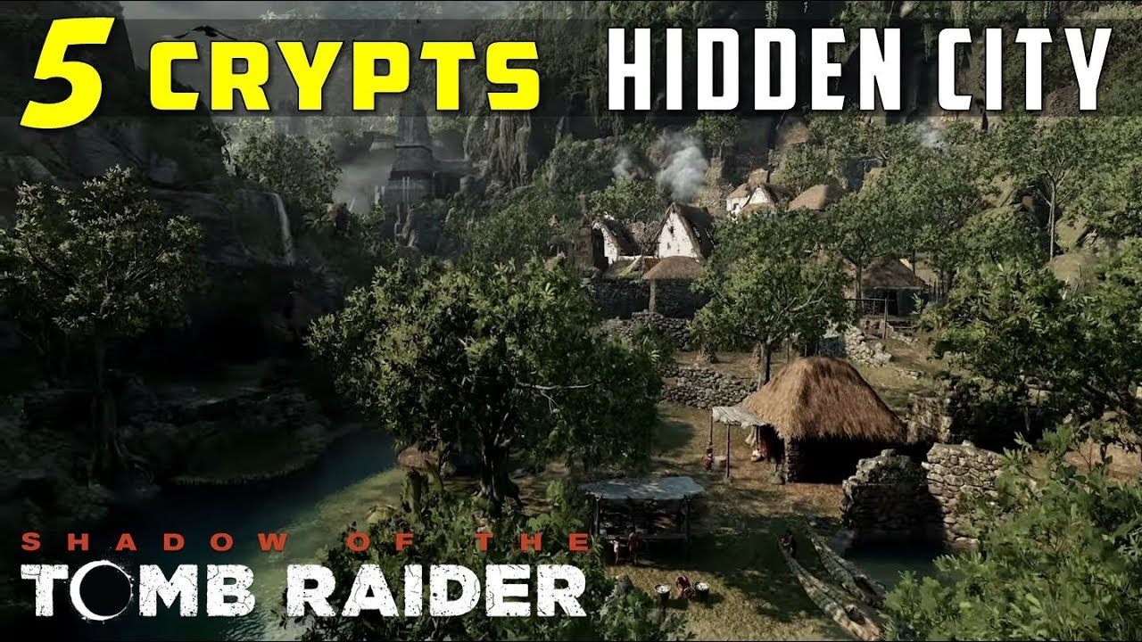 Crypts in Hidden City (Sarcophagus Location) - SHADOW OF THE TOMB RAIDER