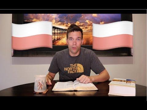 The Polish Gentile  Mark 7 a bible vlog